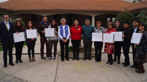 Civitas colleagues led a Project Citizen workshop for teachers and school directors in Santiago, Chile.